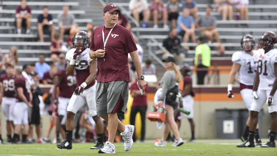 Hokies to honor retired coach with special teams tribute