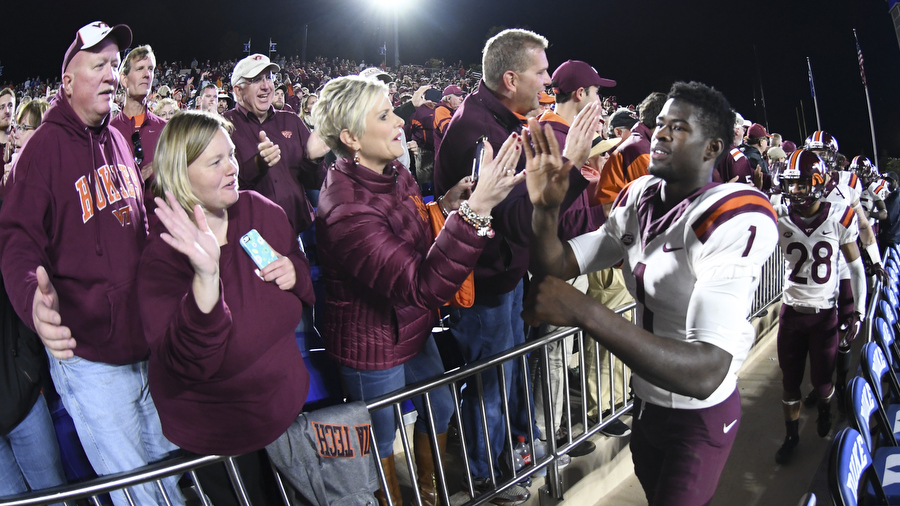 Virginia Tech takes on Georgia Tech looking for title shot