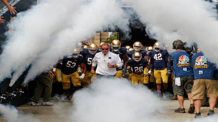 Virginia Tech Football Notre Dame Q A Preview The Key Play