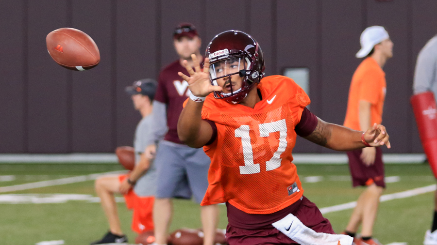 Jackson named Hokies starting QB