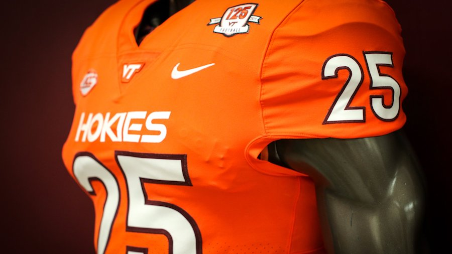 Virginia Tech Reveals New Orange Jersey to Wear Against North ...