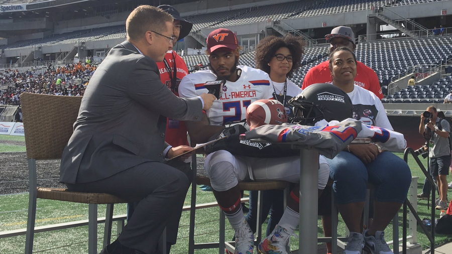 Nathan Proctor Commits to Virginia Tech at Under Armour All-American Game