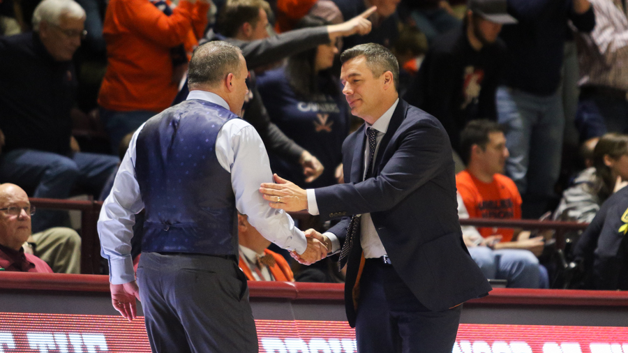 Virginia looks to sweep Virginia Tech