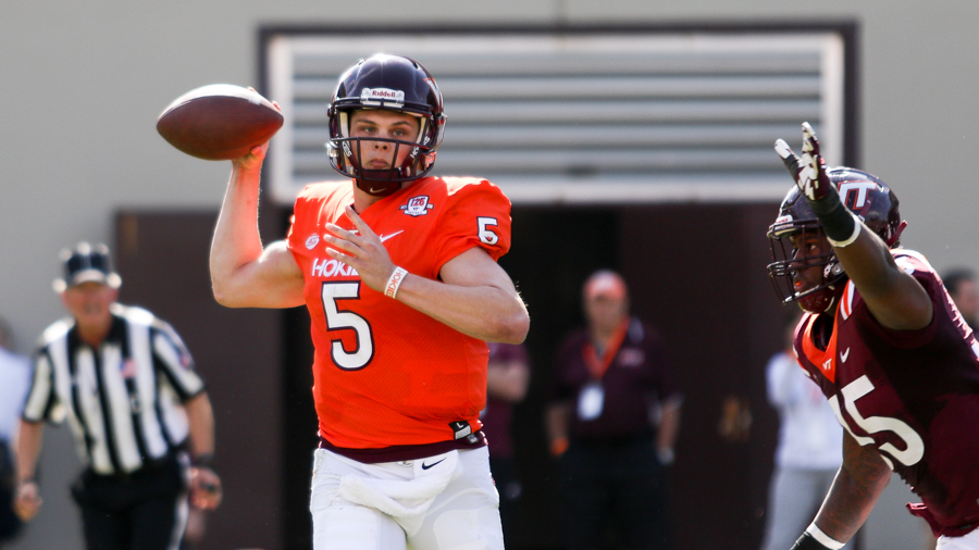 The Elephant In The Room Quarterback Play In The 2018 Virginia Tech Spring Game The Key Play
