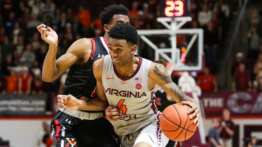 Virginia Tech Discharges Vmi 89 68 The Key Play