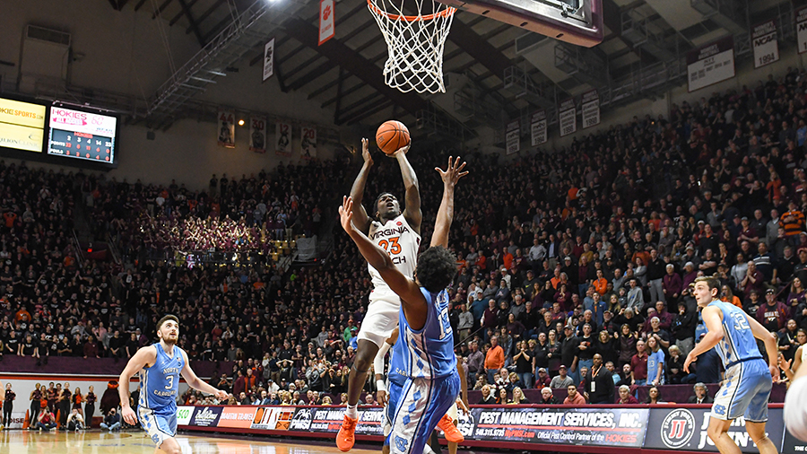 Radford S Shot Lifts Hokies To Thrilling Win Over Heels The Key Play